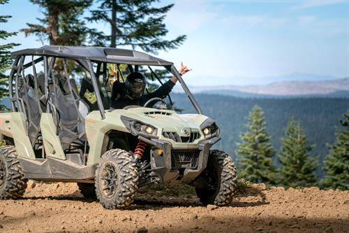 Off Road Tahoe tours lead guests along scenic ridge lines overlooking miles of mountain ranges and meadows.
