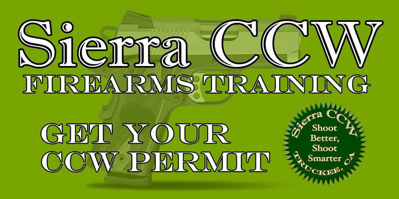 Sierra CCW Firearms Training