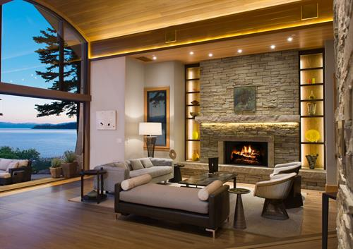 Award-winning lake front remodel