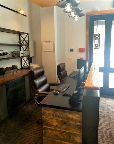 Executive Reception Area M-F  9-5.