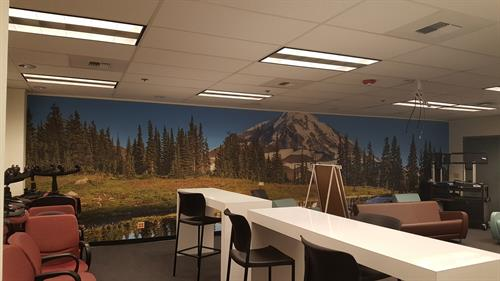 Wall Mural Mount Rainier DSHS