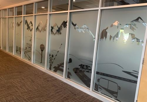 Dusted Window Vinyl Utilities & Trade Commission
