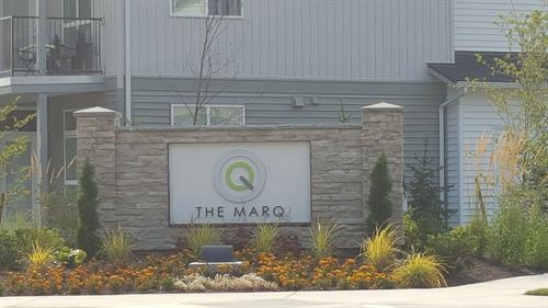 Marq Monument Sign