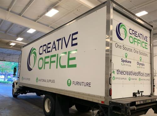 Box Truck Graphics Creative Office