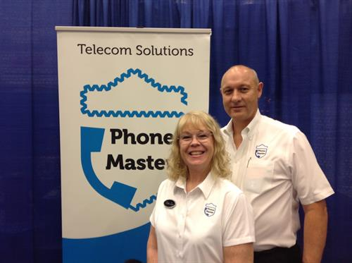 Cliff and TerriAnn at a local chamber event