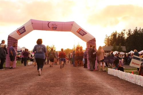 Start and Finish Line at Relay(Finian Road Photo cred)