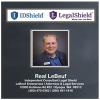 Real LeBeuf Enterprises - Independent Legal Shield Representative