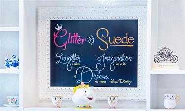Glitter & Suede