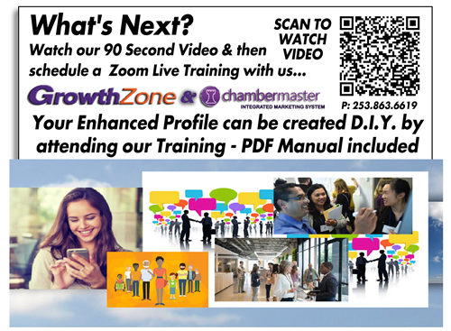 """i...ist's simple to attend a basic training - 1-2-1 live Zoom Private Training for you and your Marketing Staff. watch our video http://bit.ly/chambermarketing1"