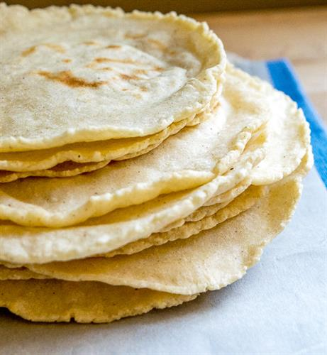 FRESH FROM SCRATCH CORN TORTILLAS