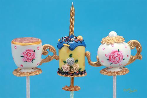 Cake pops product shot