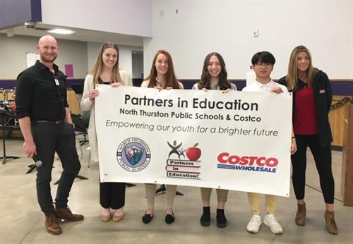 Proudly Partnering with North Thurston Public School as a PIE partner 2020