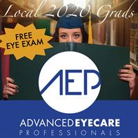 Advanced Eyecare Professionals to Give Free Eye Exam and Discounts to Local 2020 Graduates