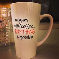 Such a cute ceramic mug... a must have!