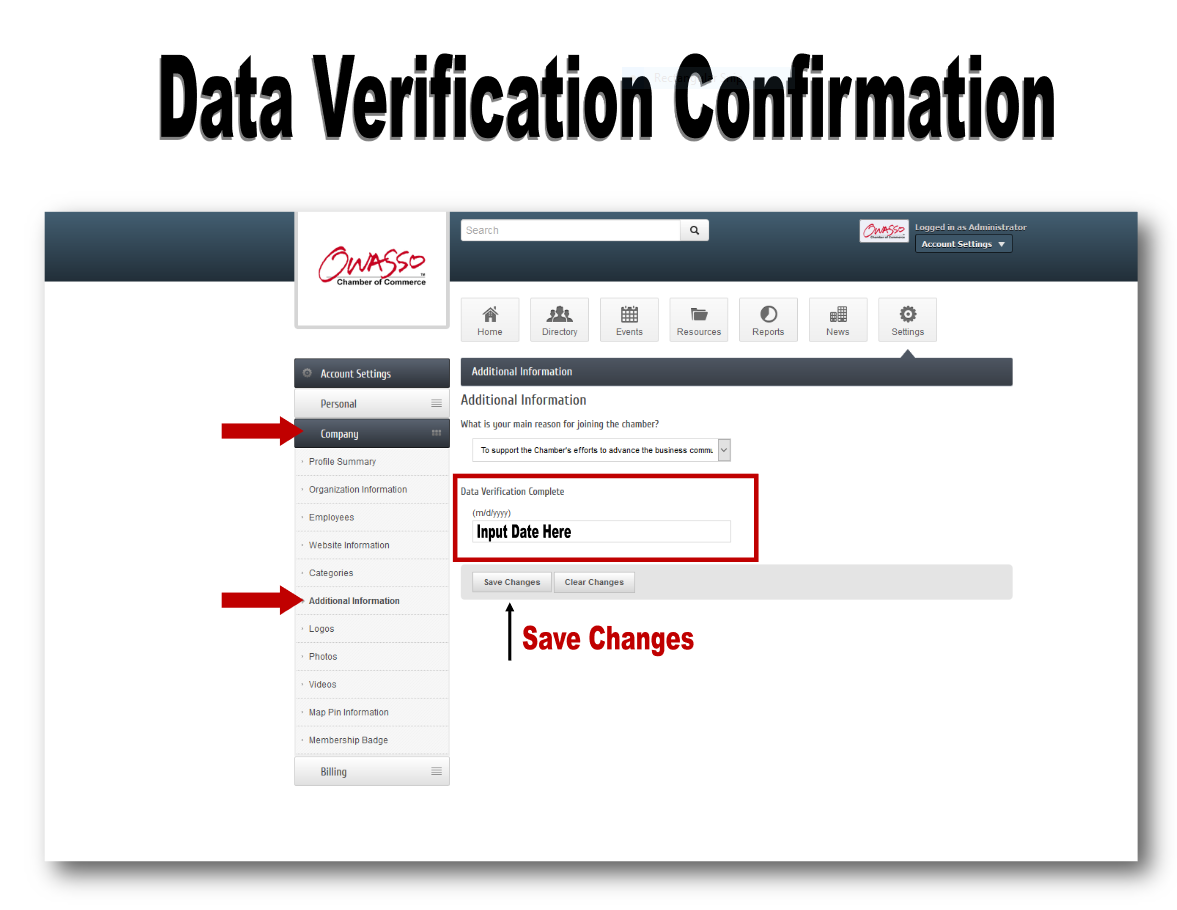 Image for It's Time For Data Verification