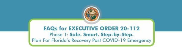 FAQ for Executive Order 20-112