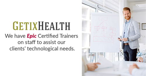 Although we use ALL healthcare/industry EHR, EMR, and billing systems, we have Certified Epic Trainers on staff.