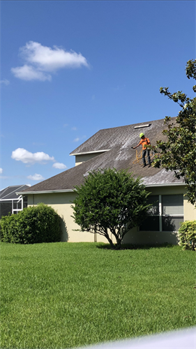 Don't replace it, Rejuvenate it.  Our treatment is a fraction of the cost for a new roof replacement.