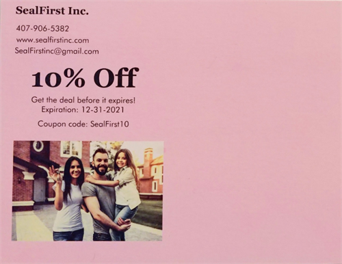 New customers get a 10% discount