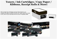 Toners / Ink Cartridges / Copy Paper