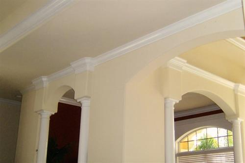 Walls, ceiling, and trim