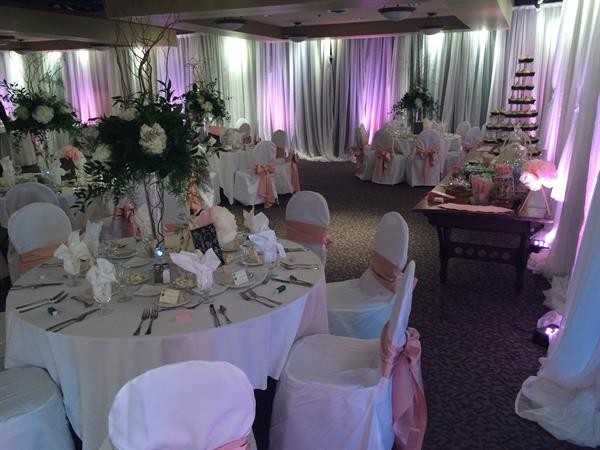 Wedding Reception in Conservatory