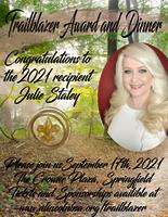 Julie Staley named 2021 Trailblazer