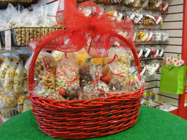Gift baskets large enough for the whole office!