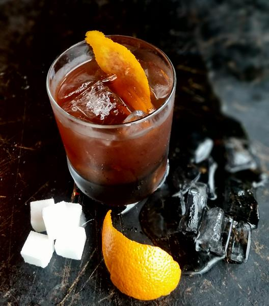 Orange Old Fashioned Buffalo