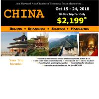 Sherwood Chamber Hosts 2018 China Trip