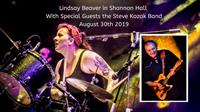 2019 08 30 Lindsay Beaver with Special Guests the Steve Kozak Band