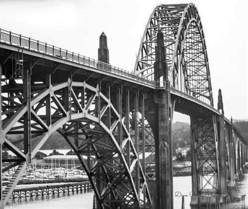 The Yaquina Bay Bridge Oregon