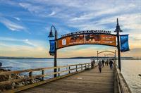 Pier Banner for Taste White Rock - White Rock's Annual Fuud Festival
