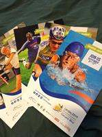 Seniors Games Posters - Part of the branding and communications package.
