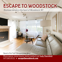 Escape to Woodstock square card