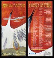 Woodstock Film FEstival 2016 Rack Card