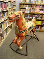 Come and visit Peter the Horse who lives in our Children's Room. He loves going for long rides with kids and listening to stories.