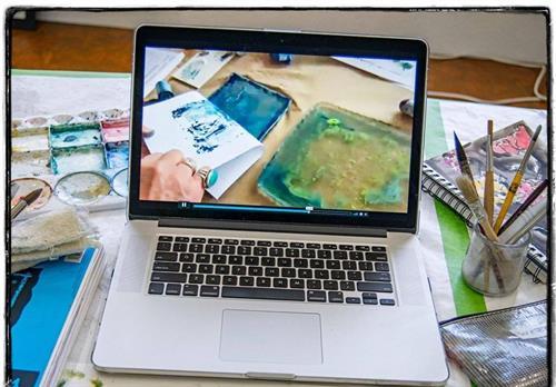 Online classes at the Woodstock School of Art