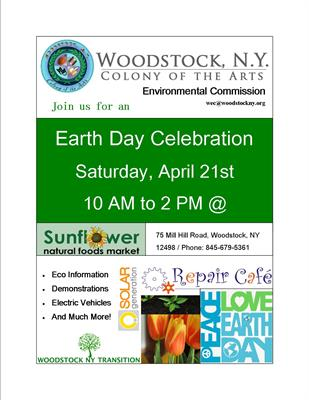 WEC Earth Day Event on 4/21 - Woodstock Chamber of Commerce
