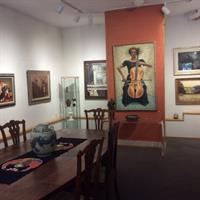 Interior, James Cox Gallery at Woodstock