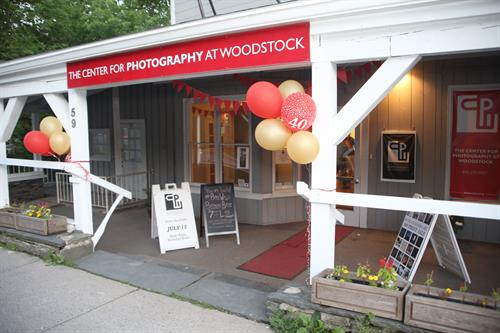 CPW's main entrance during the 40-year birthday bash