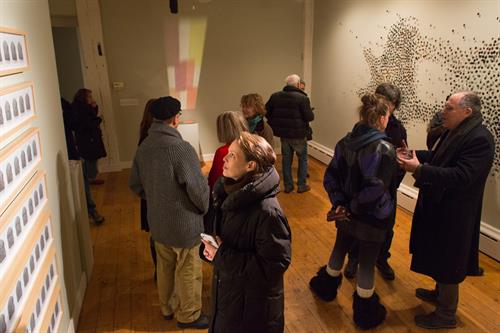 Visceral Notions exhibition at CPW