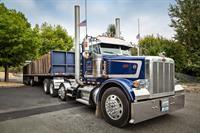 Scrap Metal Hauling Truck