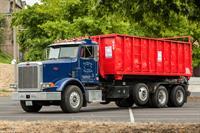 Scrap Metal Bin Truck