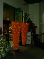 Carrot Balloon Columns