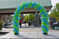 Curly Q Balloon Arch
