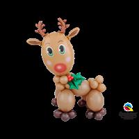 Reindeer balloon character