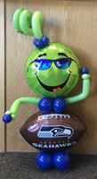 Seahawks Balloon Character
