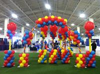 Trade Show Balloon Decor