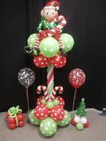 Fun Elf Balloon pedestal